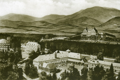 Historical photos - THERMAL SPA Velké Losiny