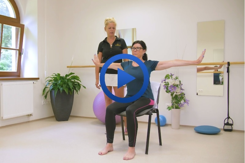 Cvičte s ROYAL SPA - cviky pro uvolnění zad a krční páteře