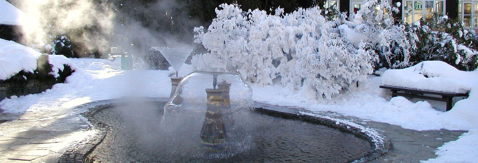 Thermal sulfur springs in THERMALSPA Velké Losiny